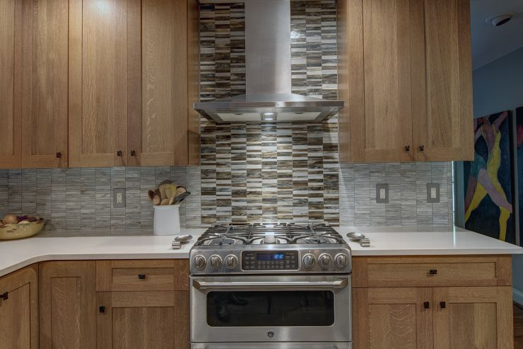 Mosaic Back Splash remodel in Bala Cynwyd, PA