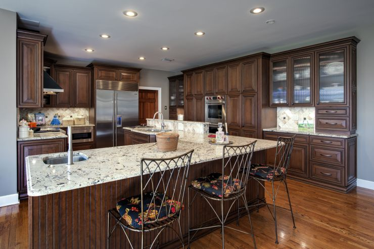 Professionally Renovated kitchen in Upper Makefield, Pennsylvania
