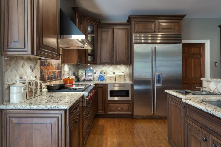 Kitchen remodeling design project in Upper Makefield, Pennsylvania
