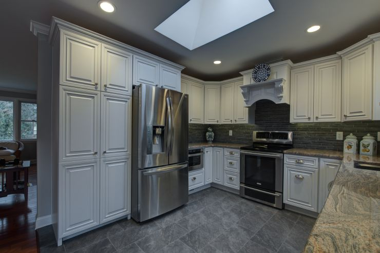 Professionally Renovated kitchen  in Solebury, PA