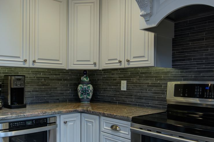 Beautiful Kitchen Backsplash Remodel in Solebury, PA