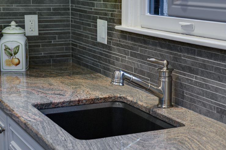 Modern Kitchen Sinks and Faucet renovation in Solebury, PA