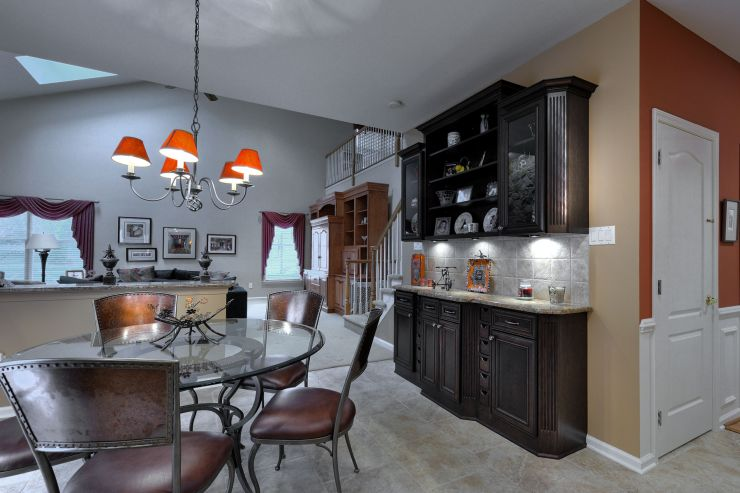 Feasterville Modern kitchen lighting remodel