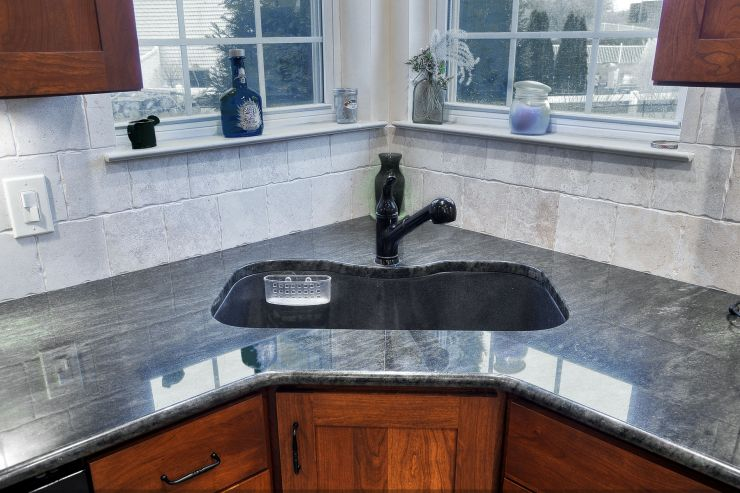 Modern Kitchen Sink and Faucet remodel in Doylestown, PA