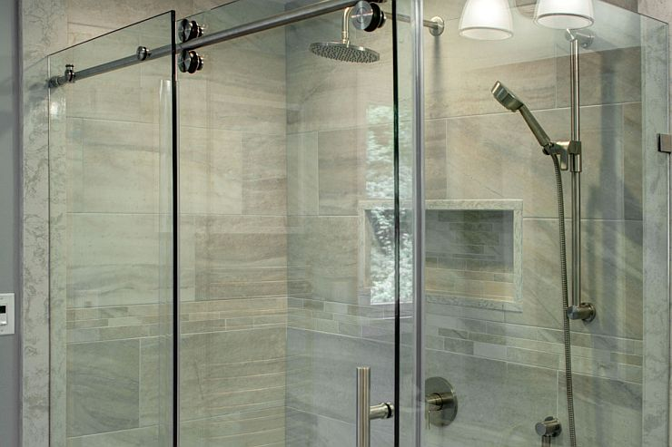 Bathroom Shower, Riobel, Edge Collection in Doylestown, PA