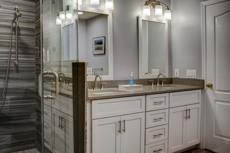 Modern Bathroom Renovation in Newtown, PA